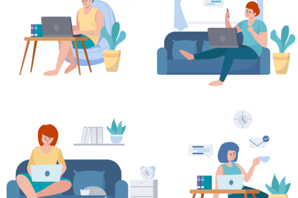 Remote Work Office Personal  - RoadLight / Pixabay